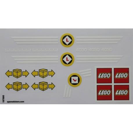 lego sticker 4030