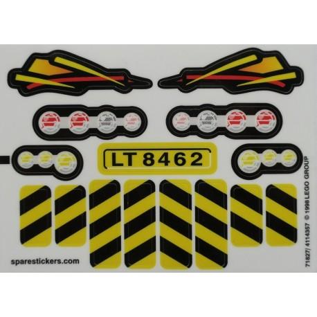 lego sticker 8462