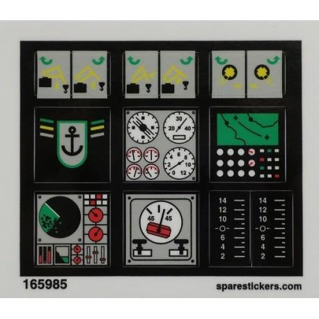 lego sticker 8839
