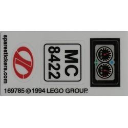 lego sticker 8422
