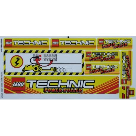 lego sticker 8457