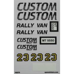 5550 Custom Rally Van (1991)