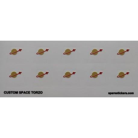 Custom sticker Classic space torso