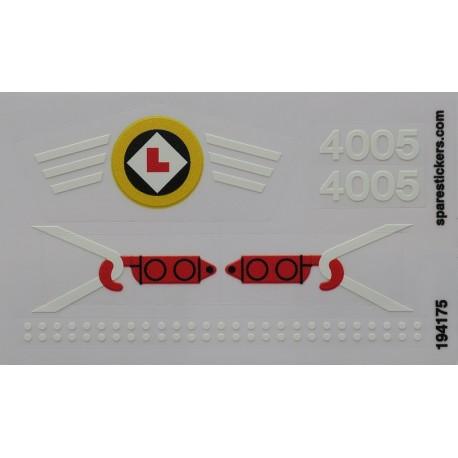 lego sticker 4005