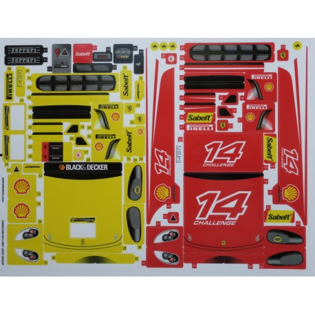 8143 Ferrari F430 Challenge 1:17 ( 2007 )
