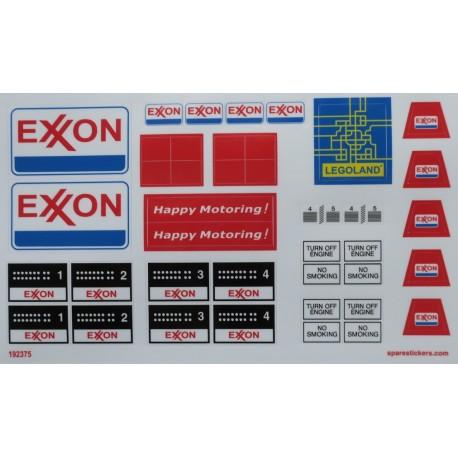 6375-2 Exxon Gas Station ( 1980 )