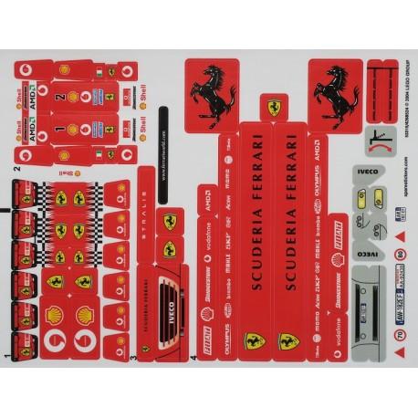 lego sticker 8654