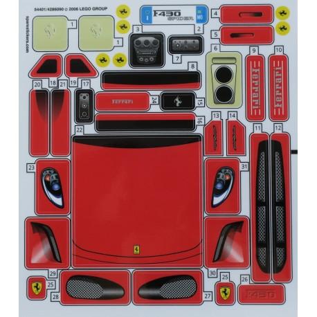 8671 Ferrari 430 Spider 1:17 ( 2006 )