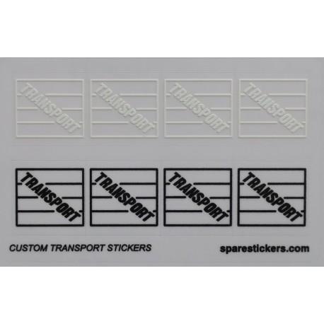 Custom TRANSPORT sticker