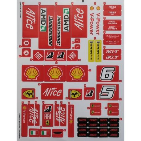 8157 Ferrari F1 1:9 ( 2008 )