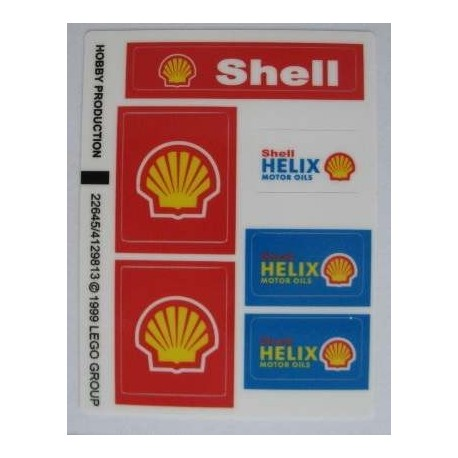 1253 Shell Race Car Transporter (1999)
