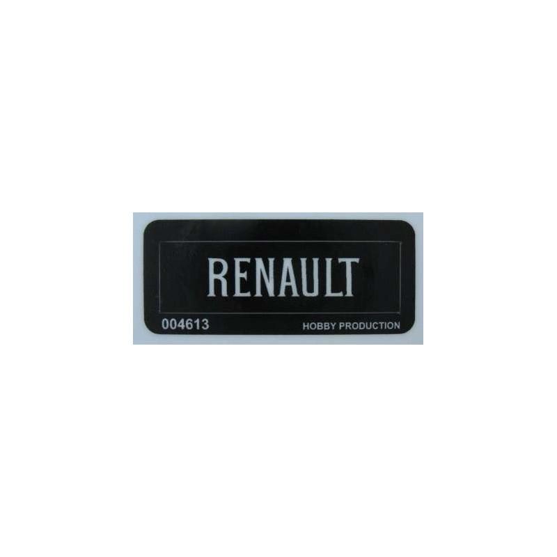 Precut Custom Replacement Sticker for Lego Set 391-1926 Renault 1975