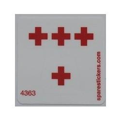 lego sticker 606