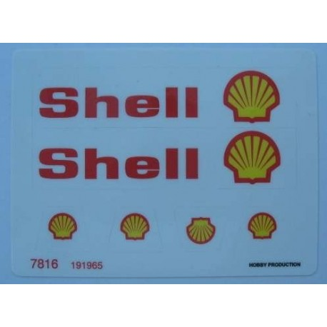 7816 Shell Tanker Wagon (1980)