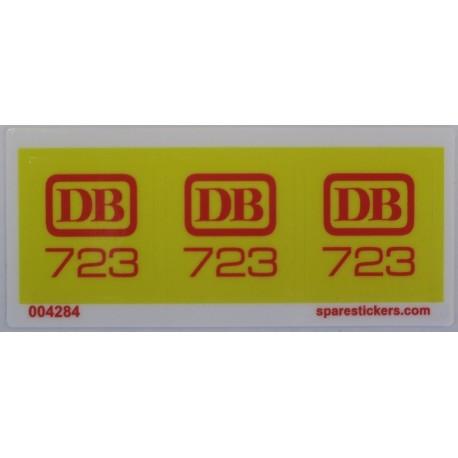 723 Diesel Locomotive with DB sticker ( 1974 )