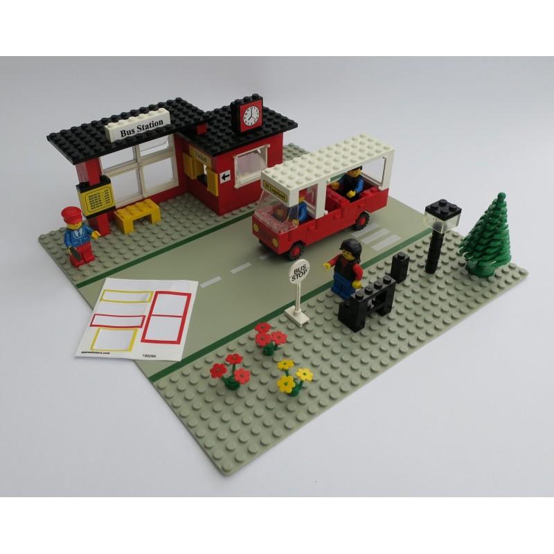 LEGO 20 x Fackelhalter Lampe Palmengabel schwarz black essembly element 2566