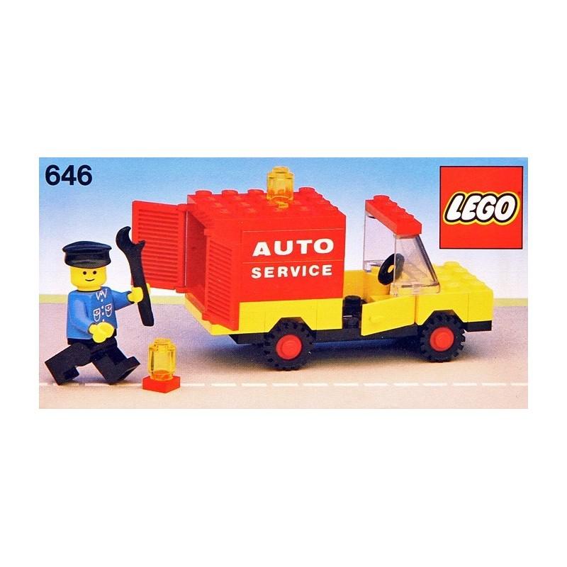 +extra 1979 Ersatz Aufkleber//Sticker Set für LEGO Set 646 Auto Service Truck