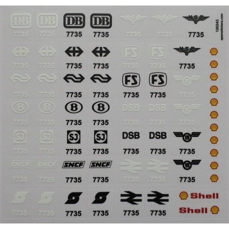 lego sticker 7735