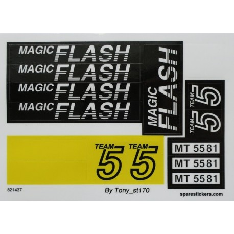 5581 Magic Flash (1993)