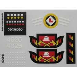 lego sticker 4025