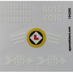 lego sticker 4015