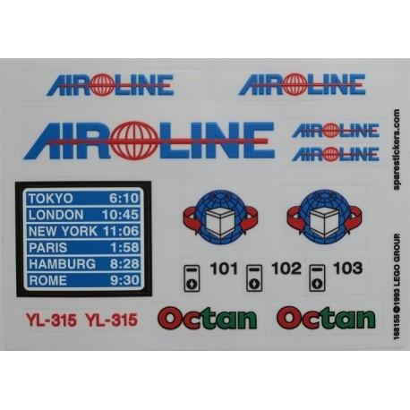 lego sticker 6597