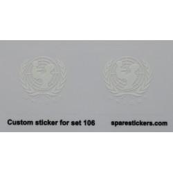 lego sticker 106