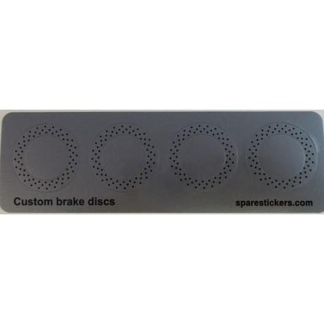 Custom breake discs